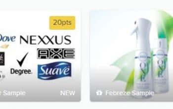 *NEW* Crowdtap Sample Opportunities: Revlon, Unilever, Febreze, Almay
