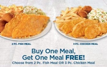 B1G1 FREE Meal at Long John Silver's