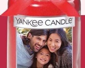 FREE Personalized Photo Candle Label at Yankee Candle (ends 1/14)