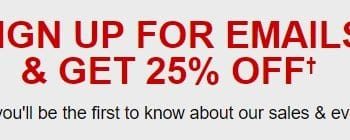 Get 25% off Your First Order at Macy's!