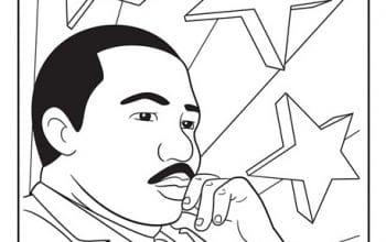 FREE Printable Martin Luther King Jr. Coloring Page (Jan. 15)