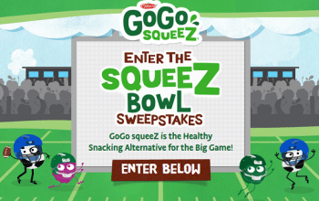 Enter to Win a Case of GoGo squeeZ Products! (ends 1/21)