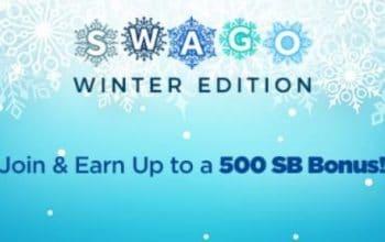 """Swago"" Winter Edition (Lifetime Swagbucks Earnings: 79,398)"