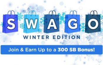 SWAGO Winter Edition: Join & Earn Up to a 300 SB Bonus!