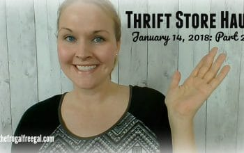 YouTube Video: Thrift Store Haul (Part 2)