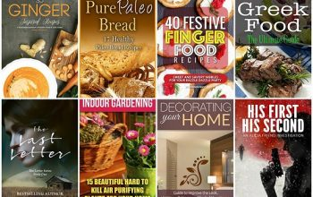 10 FREE Kindle Books for 1/2
