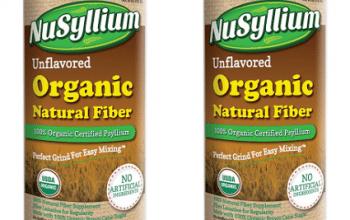 FREE NuSyllium Organic Natural Fiber Sample