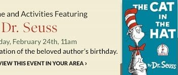 FREE Storytime & Activities at Barnes & Noble on February 24th!