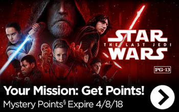 FREE Disney Movie Rewards Points! (check your email)