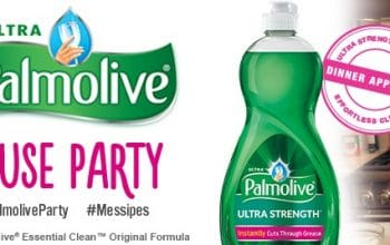 House Party: Apply for a Palmolive Party