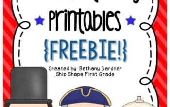 FREE Presidents' Day Printables and Activities Pack