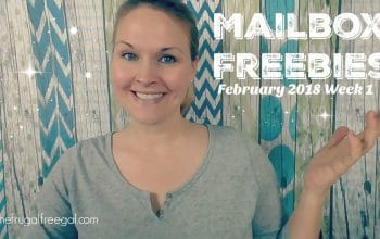 YouTube Video: Mailbox Freebies February Week 1