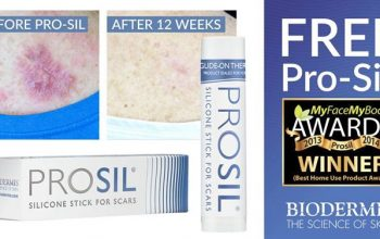FREE Pro-Sil Silicone Stick for Scars Sample