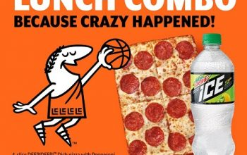 FREE Lunch Combo at Little Caesars on 4/2
