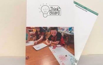 FREE Think Board Folder