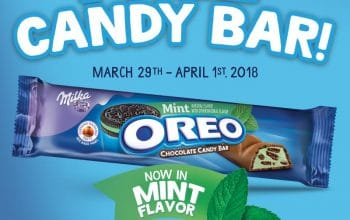 $1 Rollback OREO Chocolate Candy Bars at Walmart + 1 Million Sample Giveaway