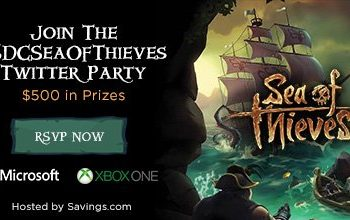 Purchase an Xbox One X and get Sea of Thieves for FREE (+ Giveaway and Twitter Party!)