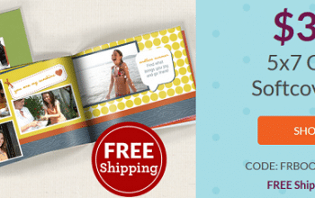 5×7 Custom Softcover Photo Book Only $3.99 Shipped! (reg $12.99) Ends 9/27
