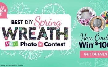 Enter to Win a $100 Dollar Tree Gift Card (ends 3/31)