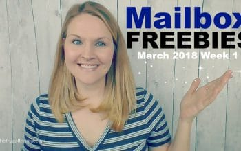 YouTube Videos: Mailbox Freebies March 2018 Week 1
