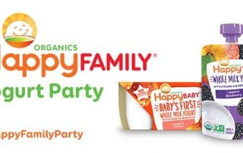 House Party: Apply for a Happy Family Yogurt Party