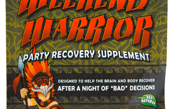 FREE Weekend Warrior Party Recovery Pack