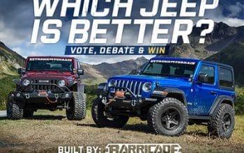 Enter to Win a Jeep Wrangler (ends 7/13)