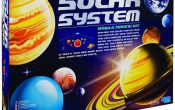 3D Glow-In-The-Dark Solar System Mobile Making Kit Only $9.99! (reg $19.99)