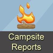 FREE Campsite Reports Bumper Sticker and Magnet