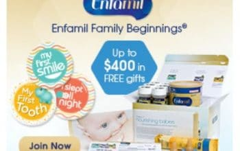 $400 in FREE Gifts Including Coupons, Formula Samples, Belly Badges™, and More!