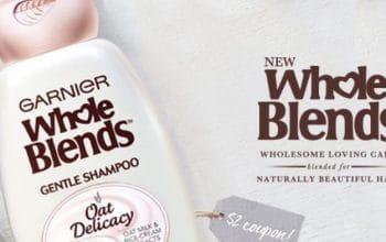 FREE Garnier Oat Delicacy Shampoo & Conditioner Sample
