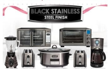$15 on Two or More Items in the Black Stainless Steel Suite!