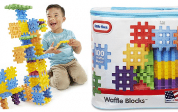 100-piece Little Tikes Waffle Blocks Bag Only $13.39! (reg $19.99)