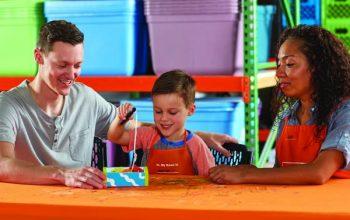 Home Depot Kids Workshop: FREE DIY Bookworm Bookends! (August 4th)