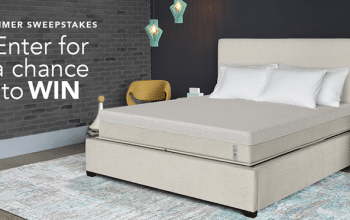 *Ends Today!* Enter to Win a Sleep Number Bed + More (ends 8/15)