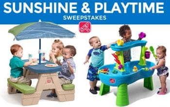 Step2 Sunshine & Playtime Sweepstakes (ends 5/31)