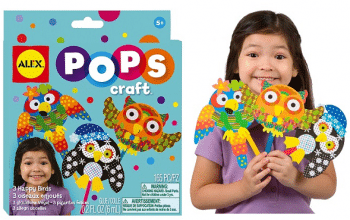ALEX Toys POPS Craft Happy Birds Kit Only $3.50!