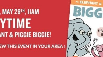 FREE Storytime & Activities at Barnes & Noble on May 26th!