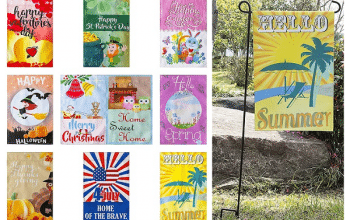 Set of 10 Garden Flags Only $24.88! (just $2.48 per flag)