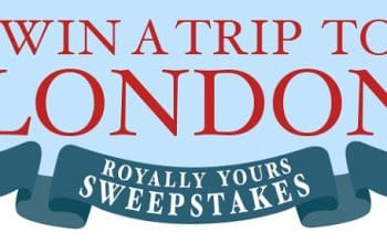 Enter to Win a Trip for 2 to London (ends 5/19)