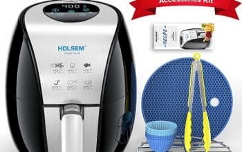Holsem Air Fryer + Accessory Kit Only $66.49 Shipped! (reg $128.99)