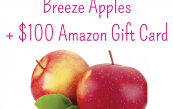Enter to Win a $100 Amazon Gift Card + Breeze Apples (ends 5/31)