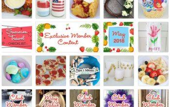 FREE Dollar Tree Inspired Crafts, Recipes, Organization Tips & More (May 2018)