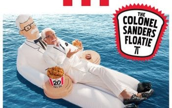 Enter to Win a Colonel Sanders Floatie (ends 6/22)