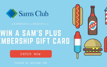 (Ends Today!) Enter to Win a $100 Sam's Plus Membership (Ends 6/15) (+ Summer Cookout Essentials Deal List)