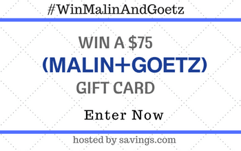 Enter to Win a $75 Malin + Goet Gift Card (ends 5/8)