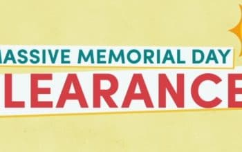 (Ends today!) Massive Memorial Day Clearance Sale – Up to 70% off!