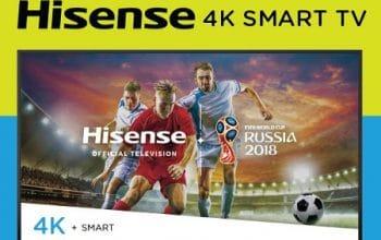 Enter to Win a Hisense 4K Smart TV (ends 6/20)