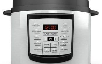 6-quart Black+Decker 11-in-1 Pressure Cooker Only $54.99 Shipped! (reg $99.99)