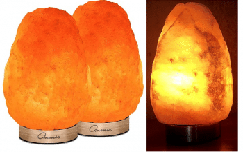 2-pack Himalayan Rock Salt Crystal Lamps Only $11.47! (just $5.74 each)